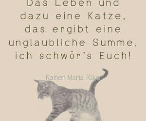 deutsch, zitat, and Rilke image