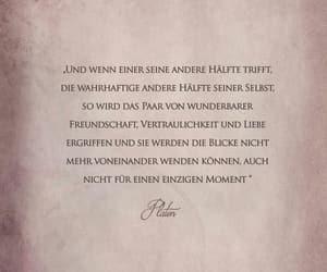 deutsch, zitat, and seelenverwandtschaft image