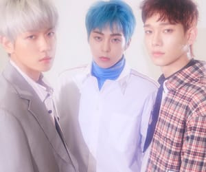 Chen, exo, and exo-cbx image