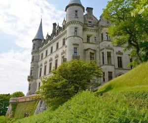 castle, dunrobin, and scotland image