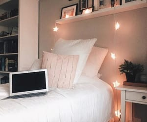 bed, decoration, and design image