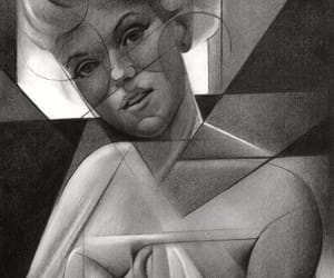 art, celebrity, and cubism image