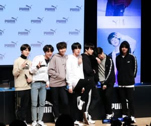 puma, fansign, and bts image