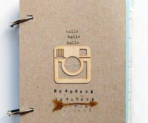 book, polaroid, and photo image