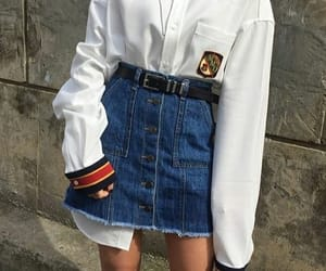 belt, indie, and outfit image