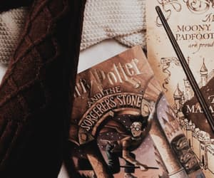 background, book, and harry potter image