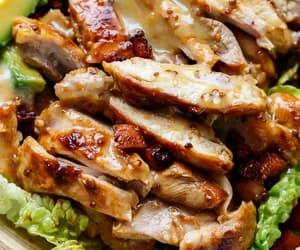 avocado, bacon, and Chicken image
