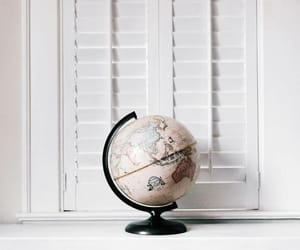globe, white, and world image