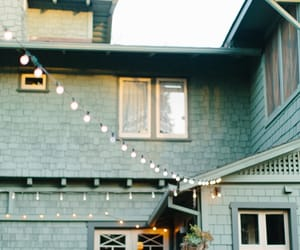 house and lights image