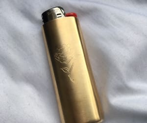 gold, rose, and lighter image