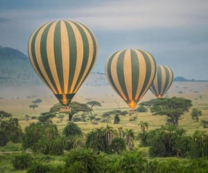 adventure, africa, and balloon image