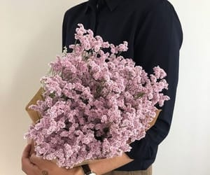 flowers, aesthetic, and kfashion image