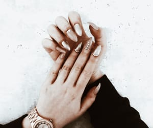 diamond, marble, and nails image