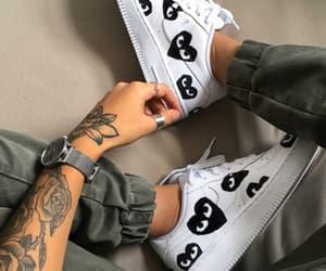 fashion, tatoo, and mode image