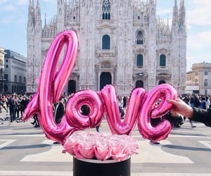love, italy, and milan image