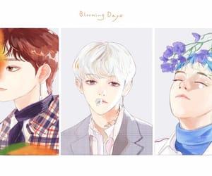 baekhyun, cbx, and Chen image