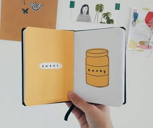 honey, bujo, and sweet image