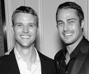 chicago fire, jesse spencer, and taylor kinney image