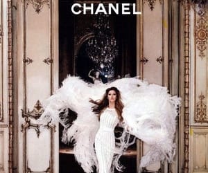 chanel, dress, and model image