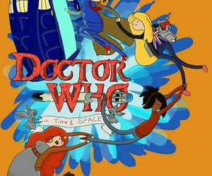 doctor who and adventure time image