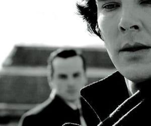 sherlock, benedict cumberbatch, and andrew scott image