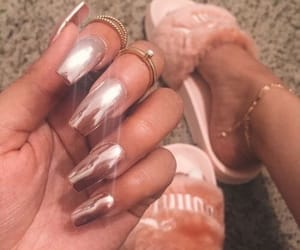 claws, inspiration, and rose gold image