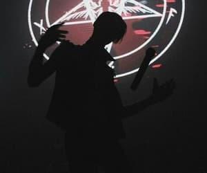 rock, shadow, and american satan image