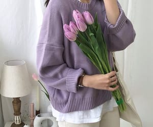 clothing, korean aesthetic, and kfashion image