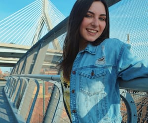 artsy, bridge, and jean jacket image