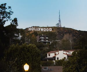 hollywood, los angeles, and hollywood sign image
