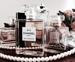 chanel, aesthetic, and pearls image