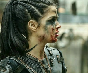 the 100, octavia blake, and warrior image