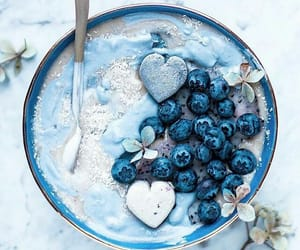 blue, food, and fruit image