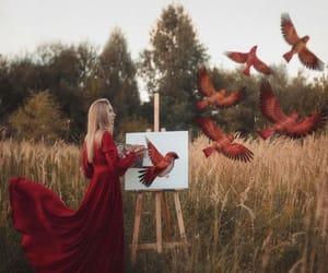 bird and dress image