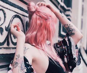 aesthetic, pink, and aes image