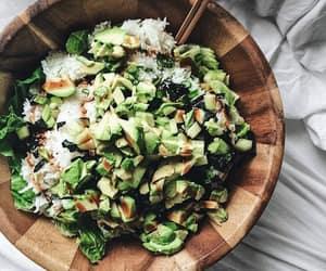 avocado, green, and sallad image