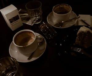 aesthetic, dark, and coffee image