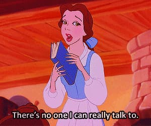 sad, quotes, and beauty and the beast image