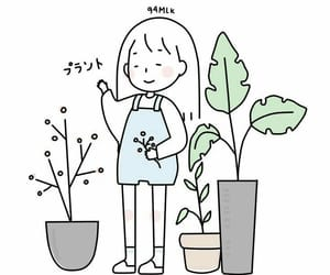 japan, plants, and cute image