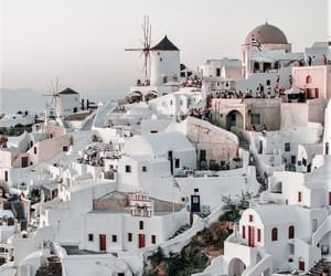 beauty, santorini, and Greece image