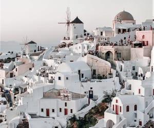 beauty, greek island, and travel image