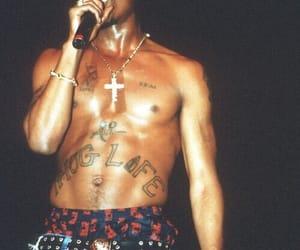 tupac, 2pac, and thug life image