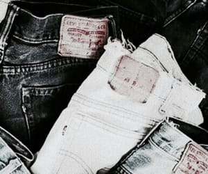 jeans, theme, and denim image