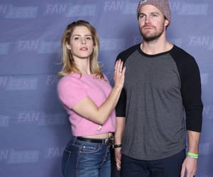 arrow, olicity, and stephenamel image