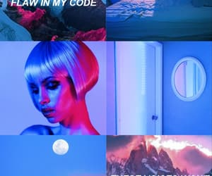 aesthetic, blonde, and Collage image