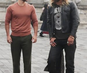 Henry Cavill, justice league, and jason momoa image