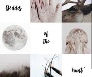 aesthetic, greek goddess, and artemis image