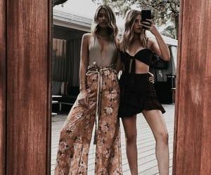 dress, girls, and hair image
