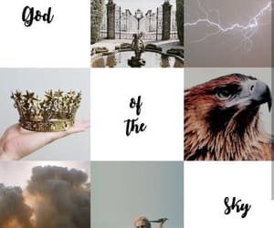 aesthetic, Zeus, and god of the sky image