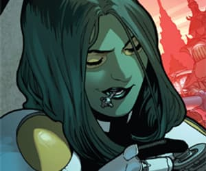 comic, guardians of the galaxy, and gamora image